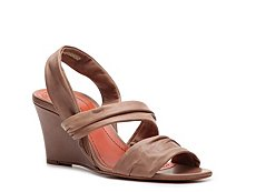 Santoni Leather Slingback Sandal
