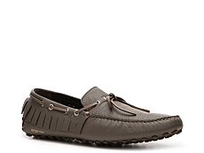 Sergio Rossi Leather Fringe Loafer