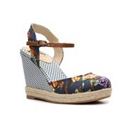 BC Footwear Smirk Wedge Sandal