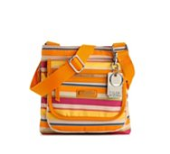 Tyler Rodan Woodway Stripe Cross Body Bag