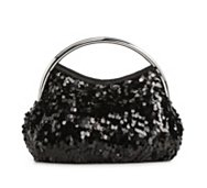 Lulu Townsend Bar Handle Sequin Clutch