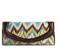 Poppie Jones Chevron Clutch