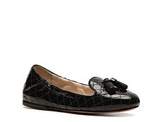 Prada Patent Leather Tassel Flat
