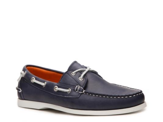 Final Sale - Ralph Lauren Collection Telford II Leather Boat Shoe | DSW
