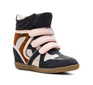 Heart Soul Iona Wedge Sneaker