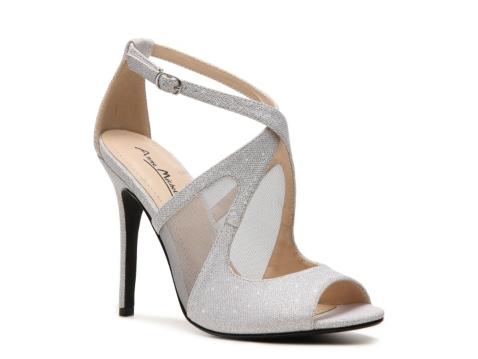 dsw evening shoes gold sandals heels