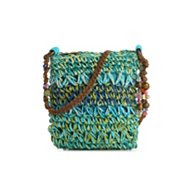 Kelly & Katie Straw Cross Body Bag