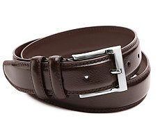 Florsheim Pebble Leather Belt