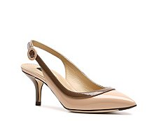 Dolce & Gabbana Patent Leather Slingback Pump