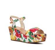 Diba Wales Floral Wedge Sandal