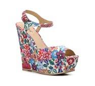 Diba Blane Floral Wedge Sandal