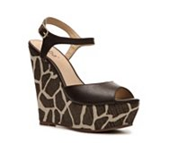 Diba Blane Printed Wedge Sandal