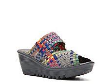 Bernie Mev Lauren Multicolor Wedge Sandal