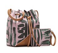 Danielle Nicole Mercer Printed Bucket Bag