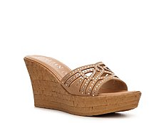 Italian Shoemakers Teagan Wedge Sandal