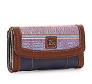 The Sak Iris Flap Leather Wallet