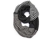 David & Young Multistripe Infinity Scarf