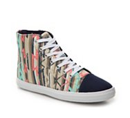 Qupid Roma-03 Printed High-Top Sneaker