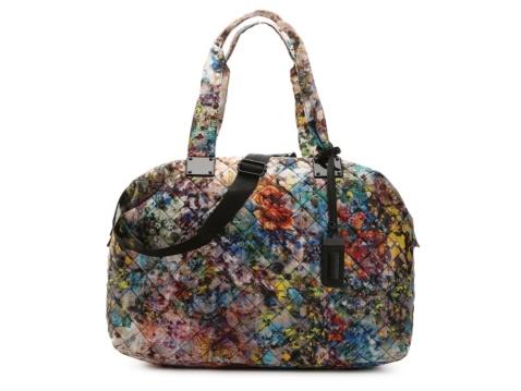 Steve Madden Quilted Floral Weekender Bag | DSW