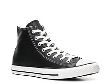 Converse Chuck Taylor All Star Leather High-Top Sneaker - Womens