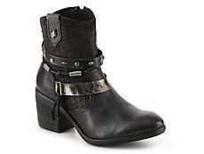 Bullboxer Velia Leather Western Bootie