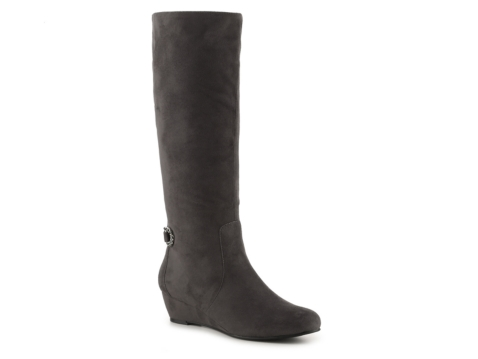 impo gladys wide calf wedge boot dsw