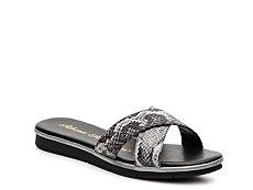 Athena Alexander Tempo Snake Wedge Sandal