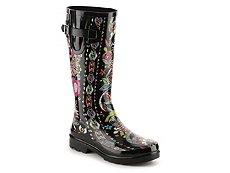 Sakroots Rhythm Owl Rain Boot