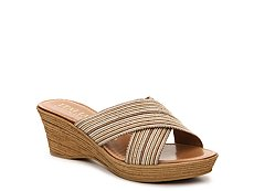 Italian Shoemakers Goddess Wedge Sandal
