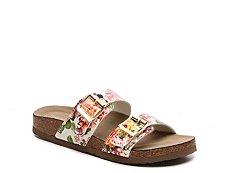 Madden Girl Brando Floral Flat Sandal