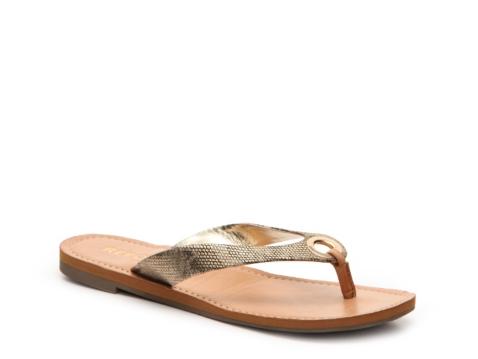 Report sodey flat sandal