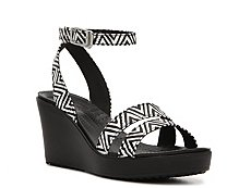 Crocs Leigh Graphic Wedge Sandal