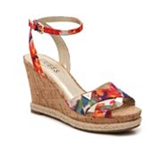 Guess Madolyn Floral Wedge Sandal