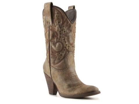 volatile harrilyn cowboy boot dsw