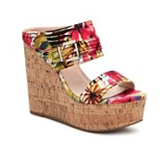 GC Shoes Fiesta Floral Wedge Sandal
