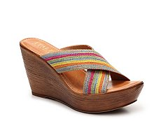 Italian Shoemakers Baby Wedge Sandal
