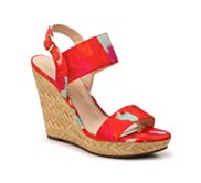 Jessica Simpson Jeisha Watercolor Wedge Sandal
