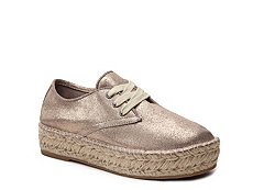 Steven by Steve Madden Phylicia Metallic Flatform Oxford