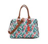Mix No.6 Zig Zag Floral Weekender Bag