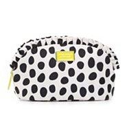 Betsey Johnson Large Dot Cosmetic Bag