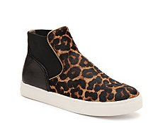 Sam Edelman Margot Leopard High-Top Sneaker