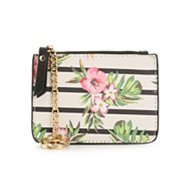 Mix No. 6 Floral Stripe Aleini Coin Purse
