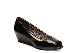 CL by Laundry Hartley Patent Wedge Pump