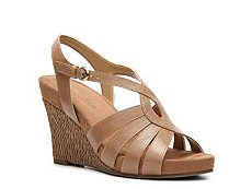 Aerosoles Sassy Plush Wedge Sandal