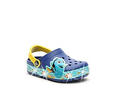 Crocs Finding Dory Girls Toddler & Youth Light-Up Clog