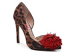 Betsey Johnson Harly Leopard Pump