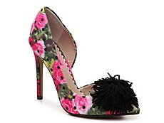 Betsey Johnson Harly Floral Pump