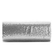Lulu Townsend Metal Flap Clutch