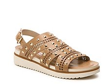 2 Lips Too Too Glib Wedge Sandal