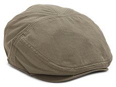 David & Young Twill Newsboy Cap